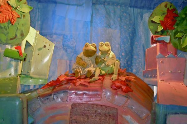 Frieda und Frosch (3,5+)
